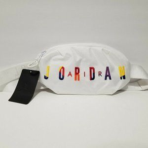 Air Jordan Crossbody Bag White Waistpack Belt Bag